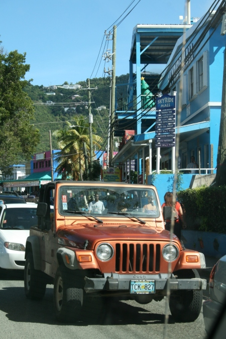 ANOTHER Jeep Wrangler on St. Thomas, USVI